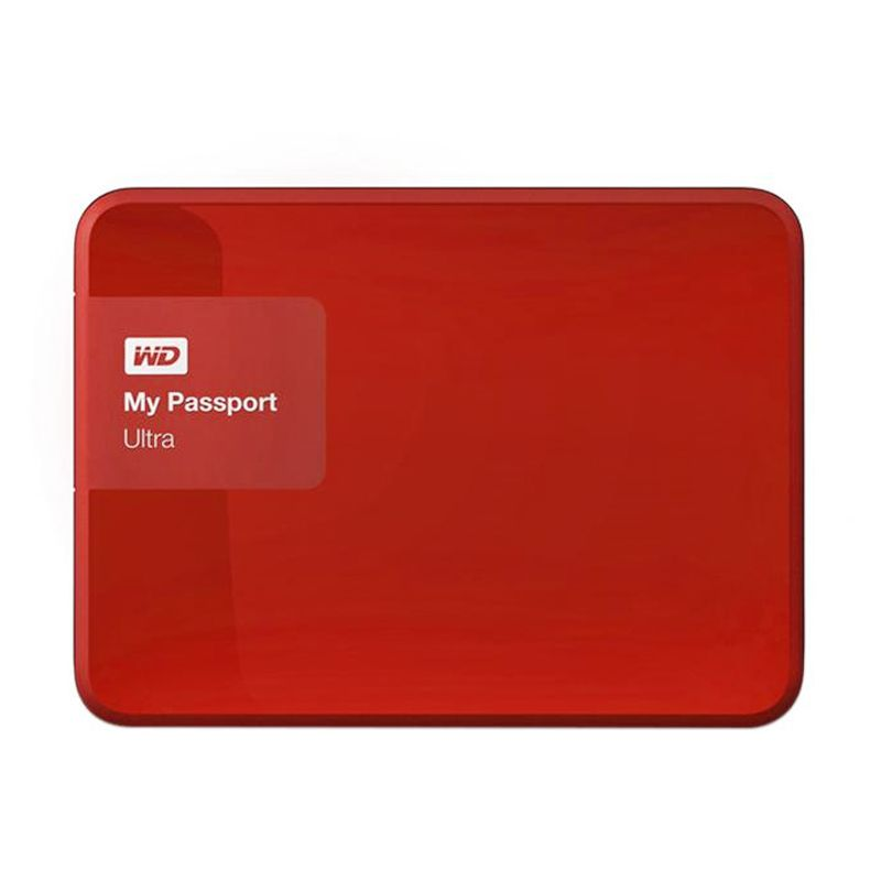 Western Digital My Passport Ultra New WDBWWM5000ABY-PESN Red Harddisk Eksternal [500 GB]