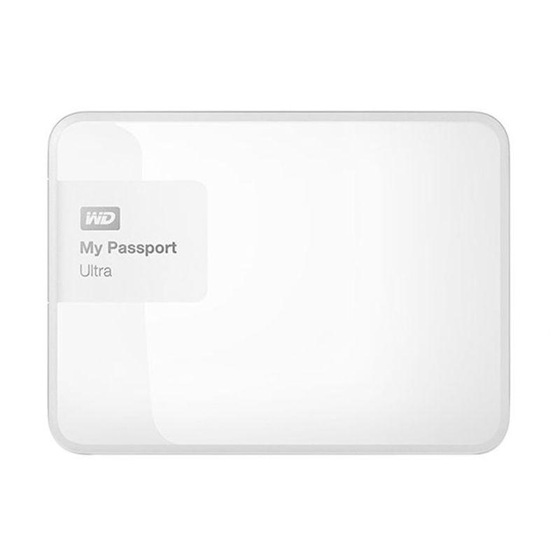 Western Digital My Passport Ultra New WDBWWM5000AWT-PESN White Harddisk Eksternal [500 GB]