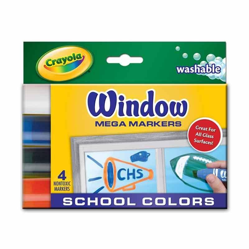 Crayola - Window Mega Markers