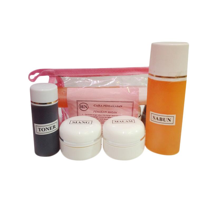 Adha Original Paket Cream Pemutih Wajah - Pink