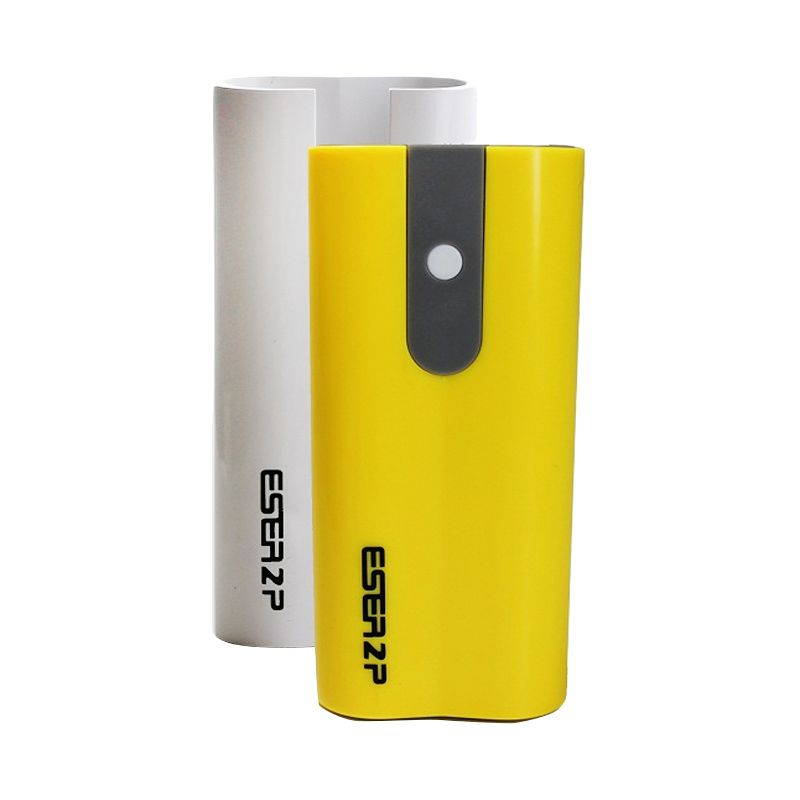 Eser PU62SYW 2A 2 Casing 2 Port Yellow White Power Bank [6200mAh]