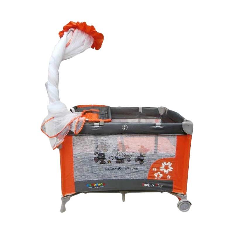Jual Creative 808 Baby Box Orange Tempat Tidur Bayi Online - Harga & Kualitas Terjamin | Blibli.com