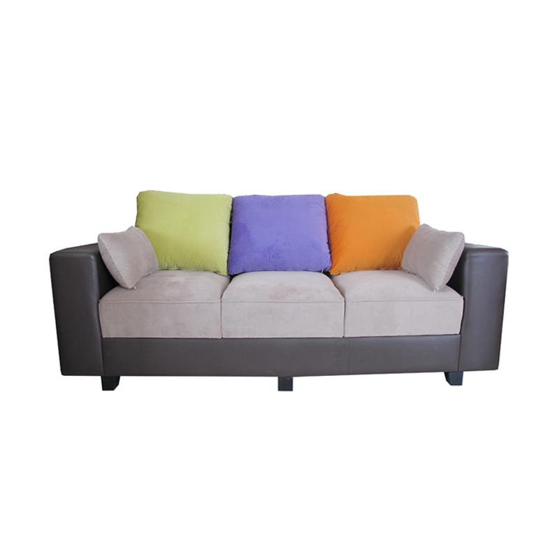 Jual creova sofa bed pandora coklat online harga for Sofa bed yang bagus merk apa