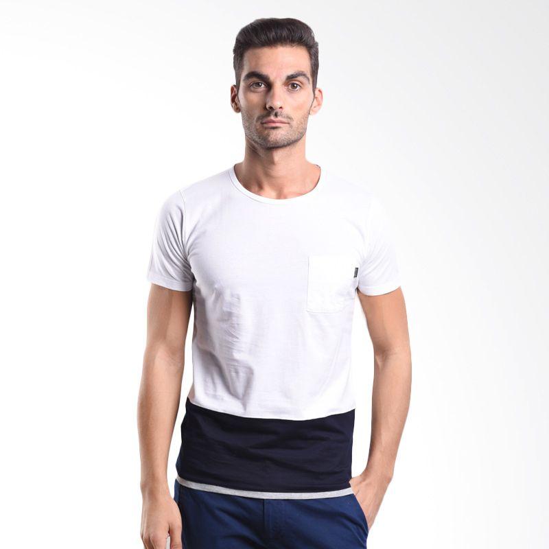 Cressida Cut & Sewn White 125G208 P T-Shirt Pria