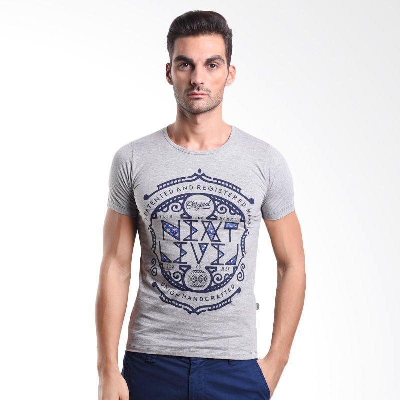 Cressida Iconic Grey 125C024 A T-Shirt Pria