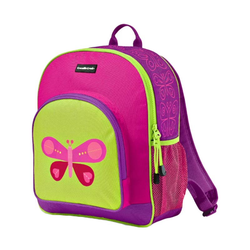 Crocodile Creek Backpack - Pink Butterfly