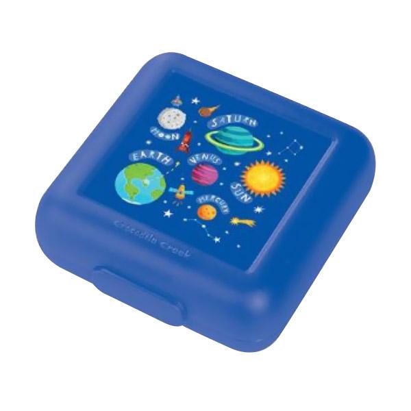 Crocodile Creek Sandwich Keeper Galaxy Kotak Makan - Dark Blue