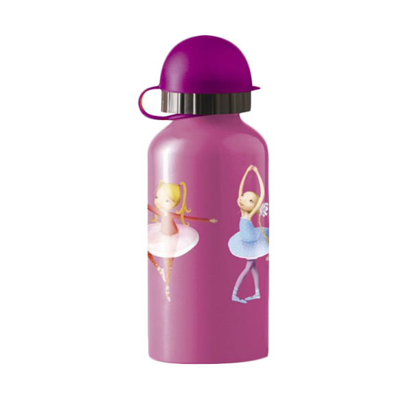 Crocodile Creek Stainless Steel Bottle Ballerina  Botol Minum [400 mL]