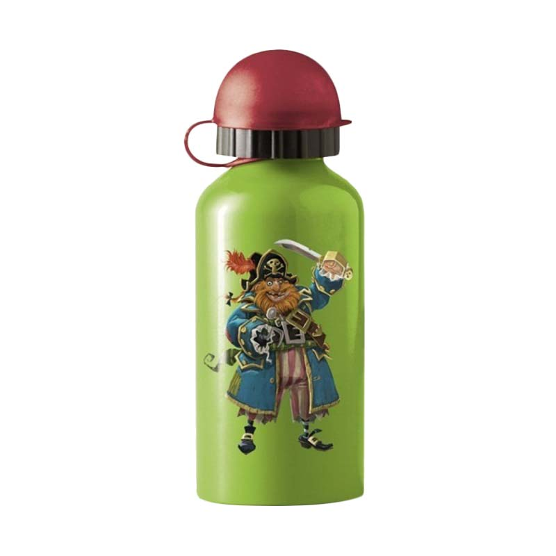 Crocodile Creek Stainless Steel Bottle Pirate Botol Minum [400 mL]