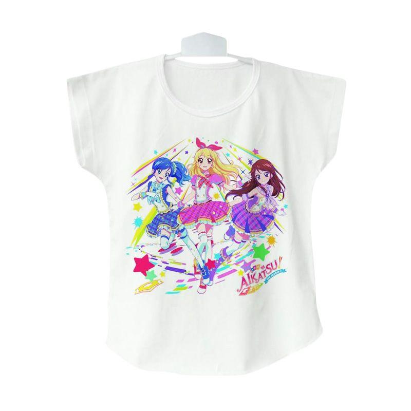 AIKATSU Soleil 03 Baju Atasan Anak Perempuan