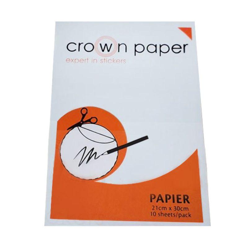 Crown Paper Papier Sticker Paper