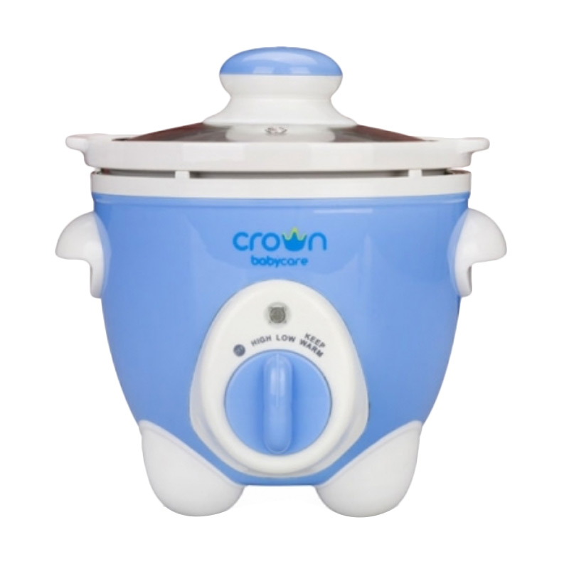 Crown Electric Crockery Pot CR538 Blue