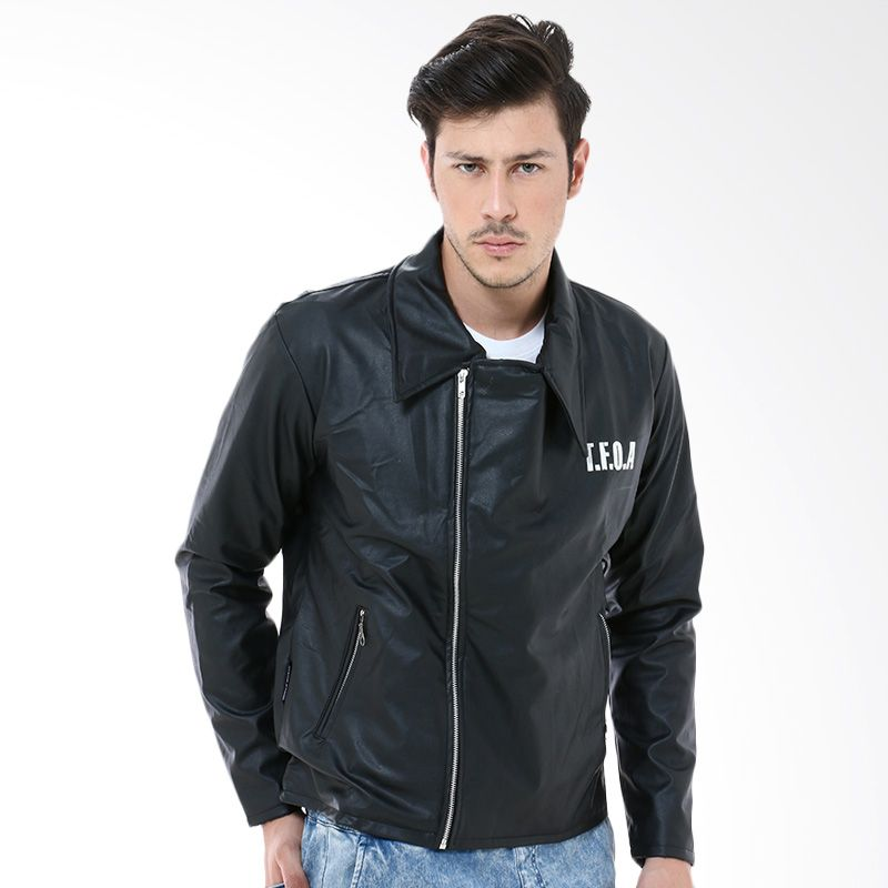 Crows Denim A-3 Black Jaket Pria