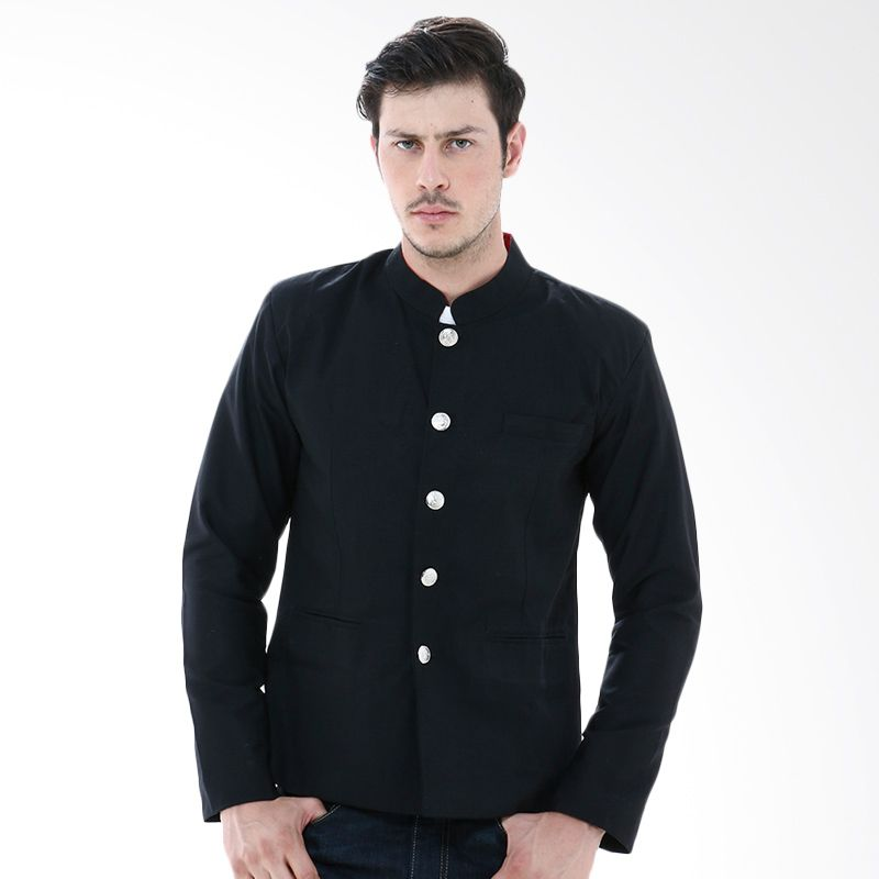 Crows Gakuran Genji Black Denim Blazer