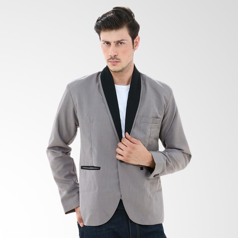 Crows Denim SK09 Gray Blazer