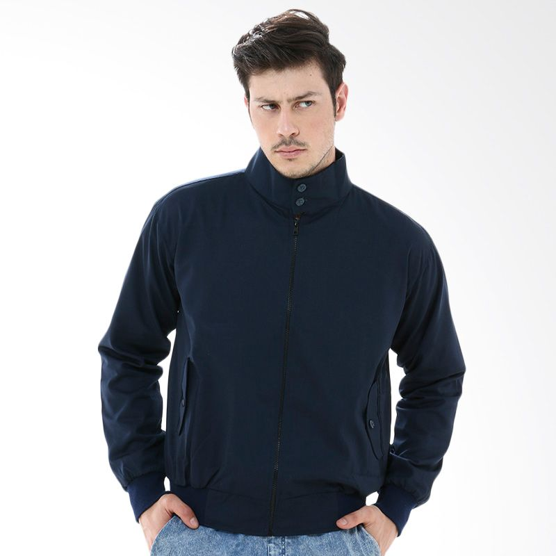 Crows Denim SK47 Blue Navy Jaket Pria