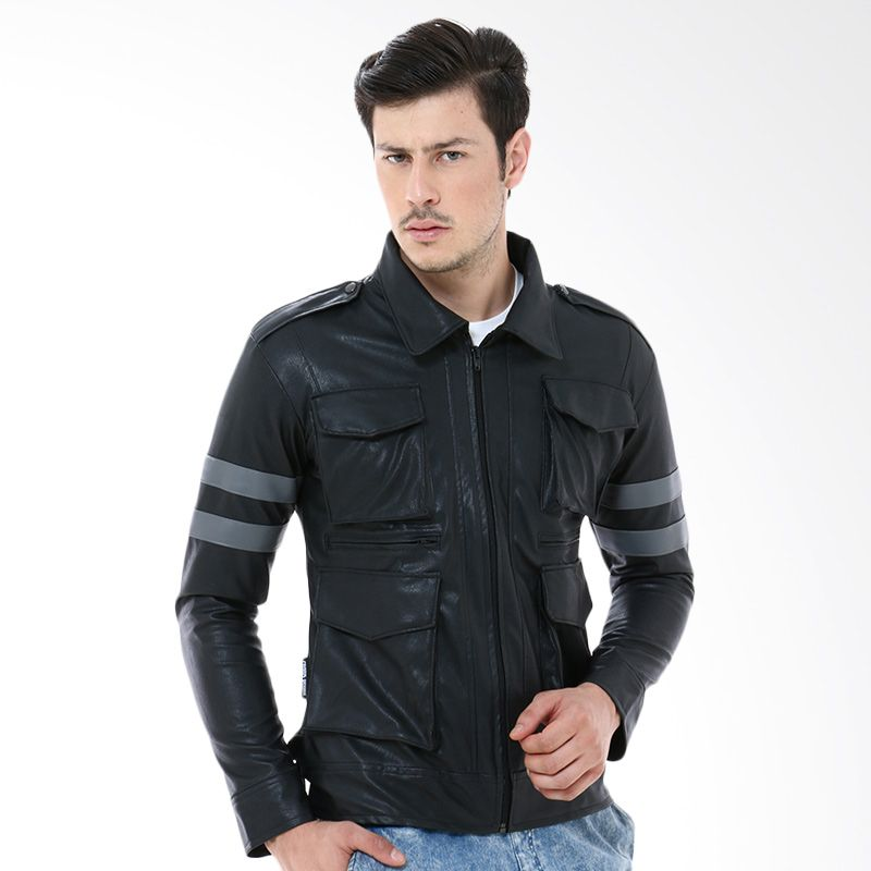 Crows Denim Z-06 Black Jaket Pria