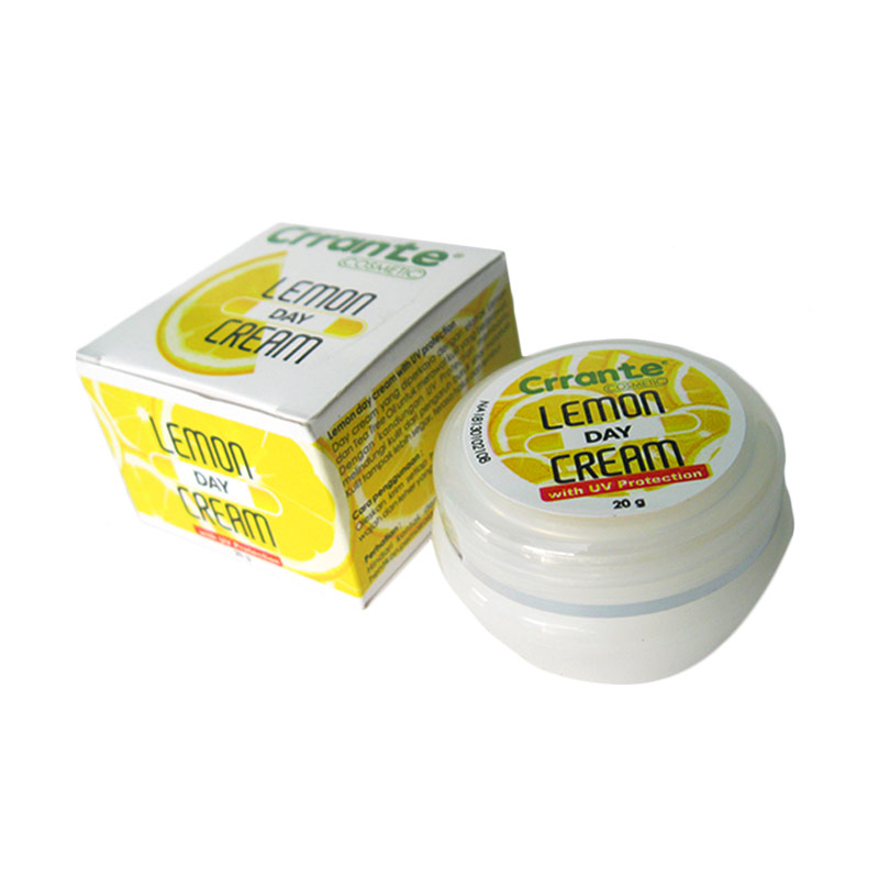 Crrante Lemon Day Cream With UV Protection Krim Wajah