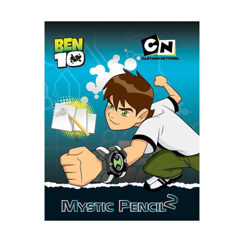 Cartoon Network Ben 10 Activity Book Mystic Pencil Vol.02 Buku Anak