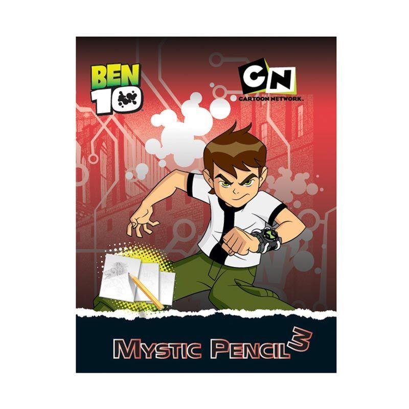 Cartoon Network Ben 10 Activity Book Mystic Pencil Vol.03 Buku Anak