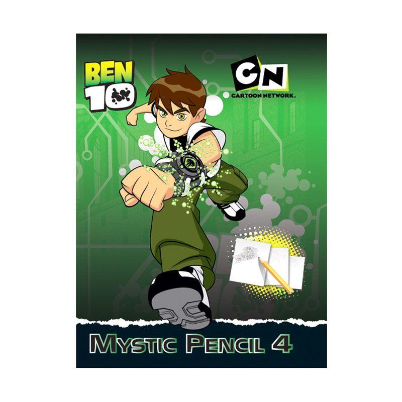 Cartoon Network Ben 10 Activity Book Mystic Pencil Vol.04 Buku Anak