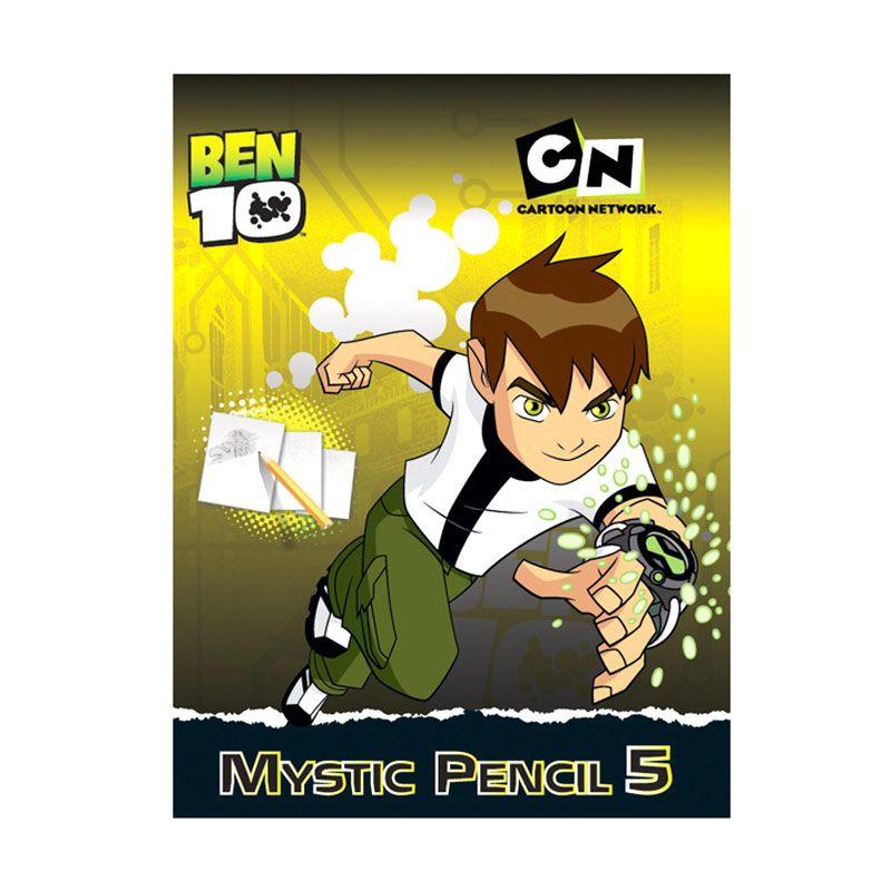 Cartoon Network Ben 10 Activity Book Mystic Pencil Vol.05 Buku Anak