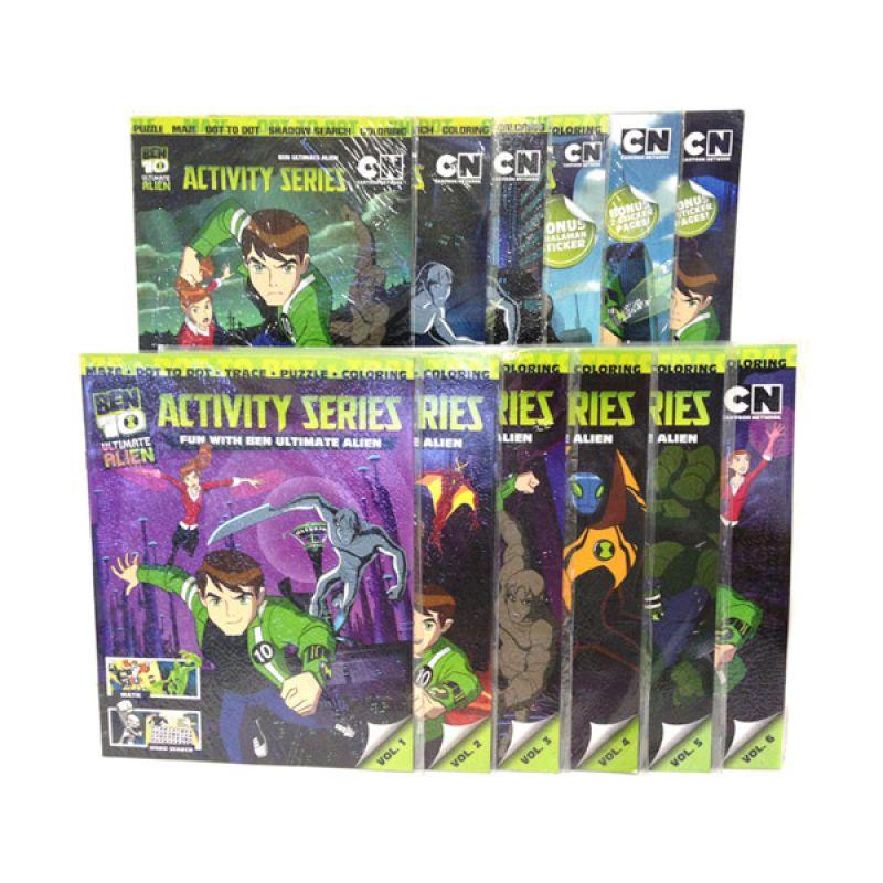 Cartoon Network Ben 10 Alien Force Buku Anak [Paket Aktivitas]