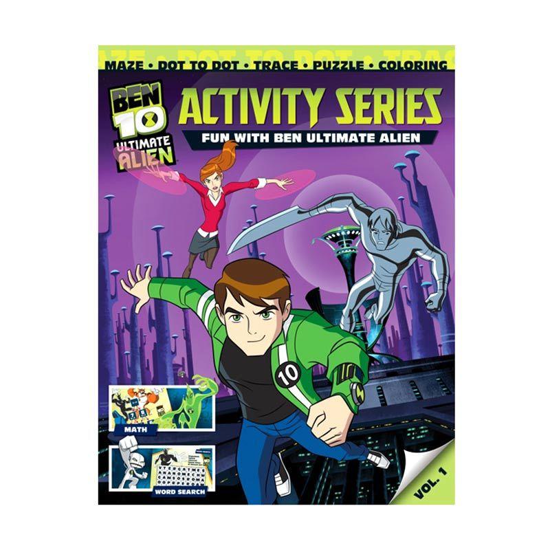 Cartoon Network Ben 10 Ultimate Activity Series Vol. 01 Buku Anak