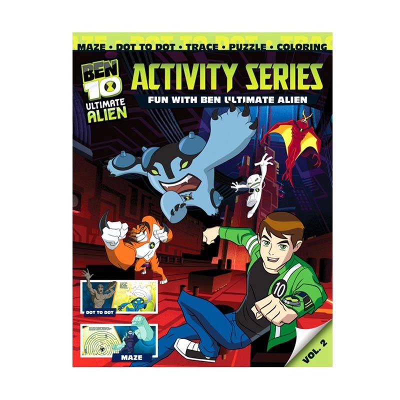 Cartoon Network Ben 10 Ultimate Activity Series Vol. 02 Buku Anak