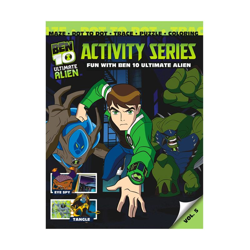Cartoon Network Ben 10 Ultimate Activity Series Vol. 05 Buku Anak