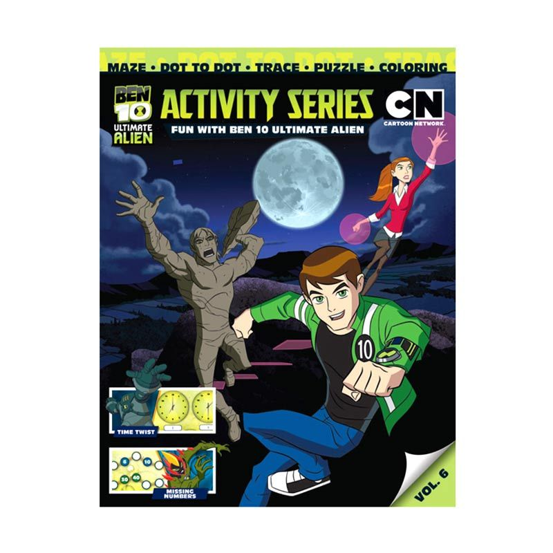 Cartoon Network Ben 10 Ultimate Activity Series Vol. 06 Buku Anak