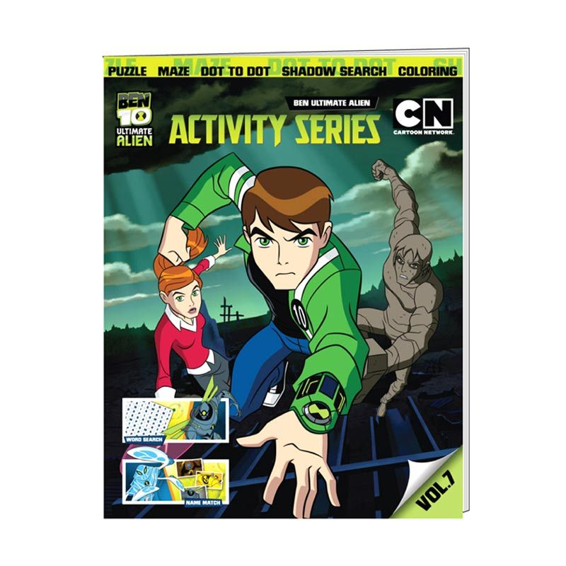 Cartoon Network Ben 10 Ultimate Activity Series Vol. 07 Buku Anak