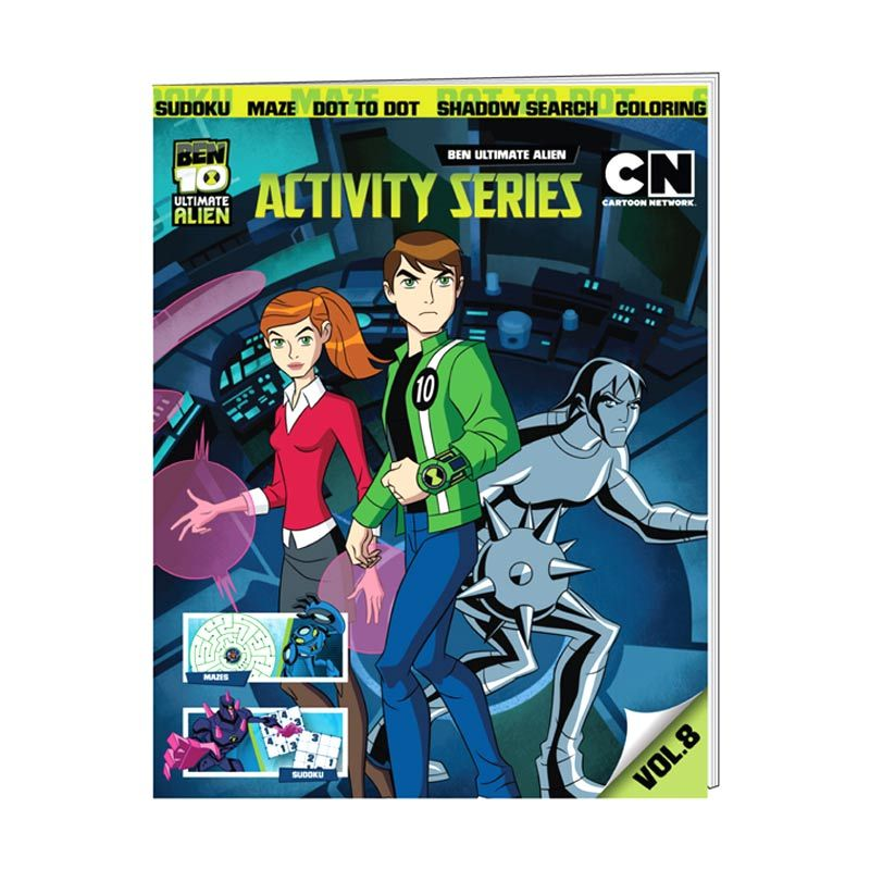 Cartoon Network Ben 10 Ultimate Activity Series Vol. 08 Buku Anak
