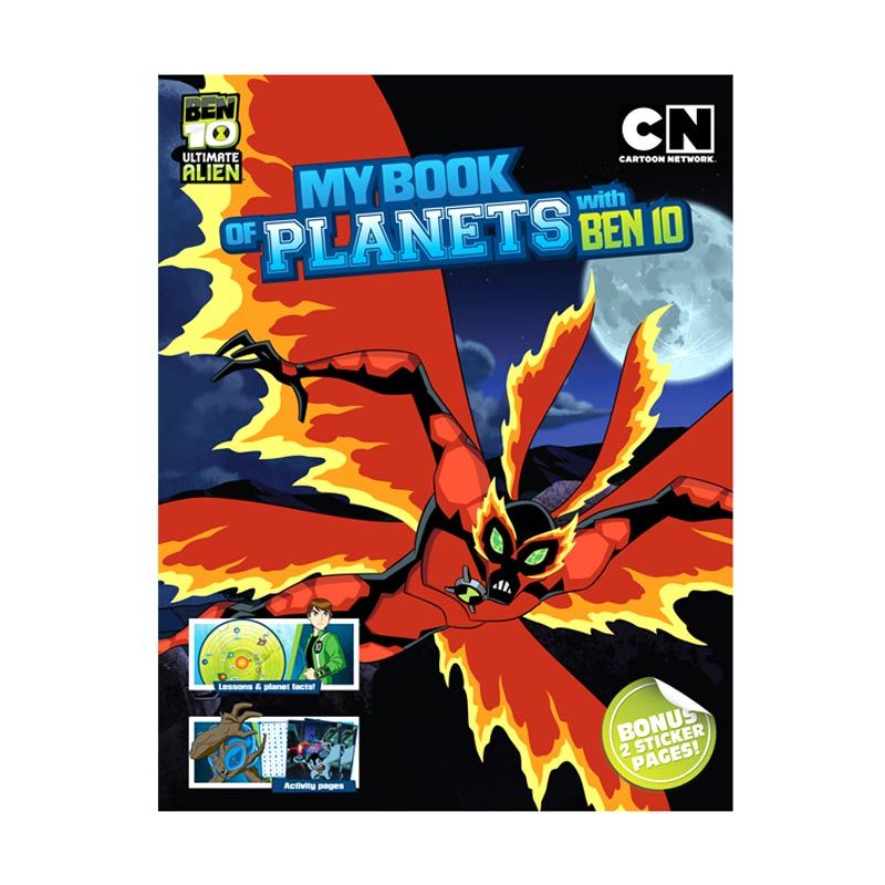 Cartoon Network Ben 10 Ultimate Alien My Book of Planets with Ben 10 Buku Anak