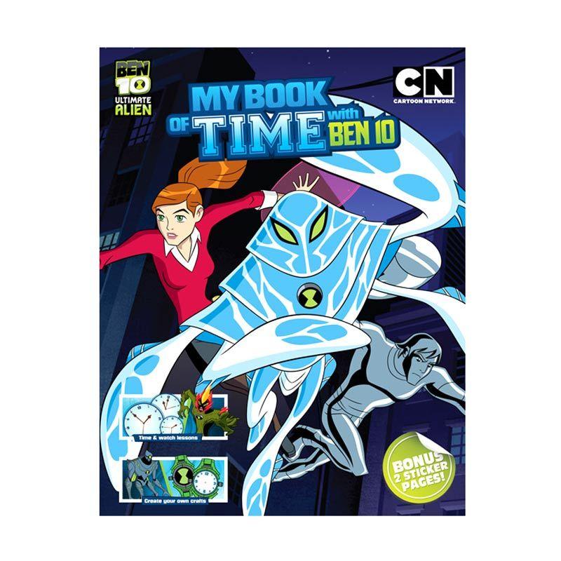 Cartoon Network Ben 10 Ultimate Alien My Book of Time with Ben 10 Buku Anak