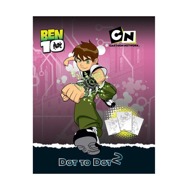 Cartoon Network Ben 10 Dot to Dot Vol.02 Buku Anak