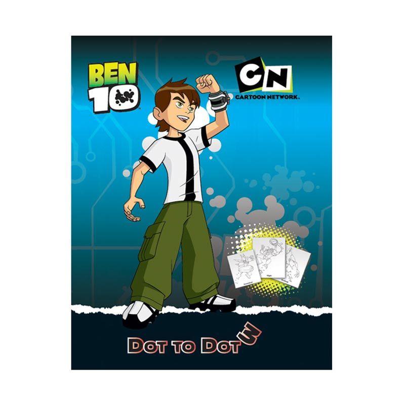 Cartoon Network Ben 10 Dot to Dot Vol.03 Buku Anak