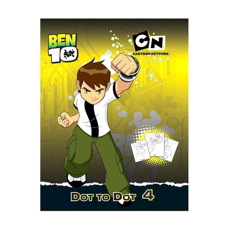Cartoon Network Ben 10 Dot to Dot Vol.04 Buku Anak