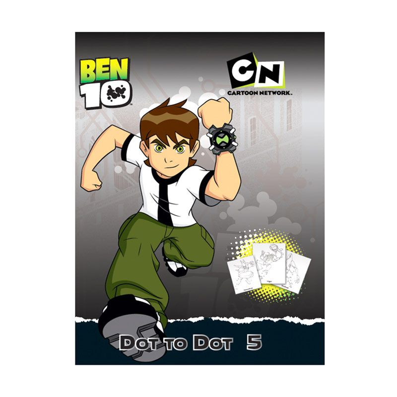 Cartoon Network Ben 10 Dot to Dot Vol.05 Buku Anak