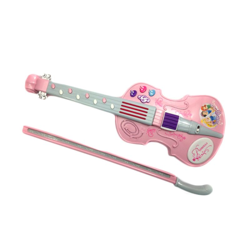 Disney Princess Violin 01 Pink Mainan Anak
