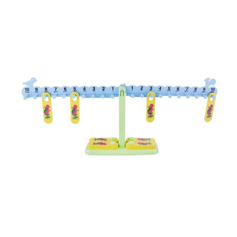 Hit Entertainment Limited Barney Math Balance Mainan Anak