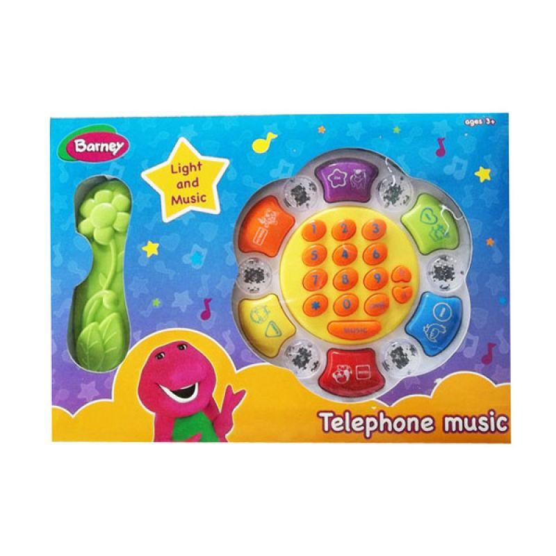 Hit Entertainment Limited Barney Music Phone 01 Mainan Anak