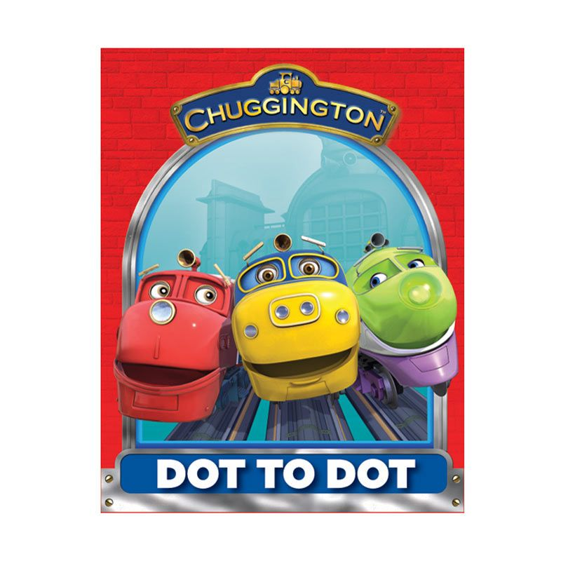 Ludorum Chuggington Buku Aktivitas Dot to Dot Vol. 01 Buku Anak