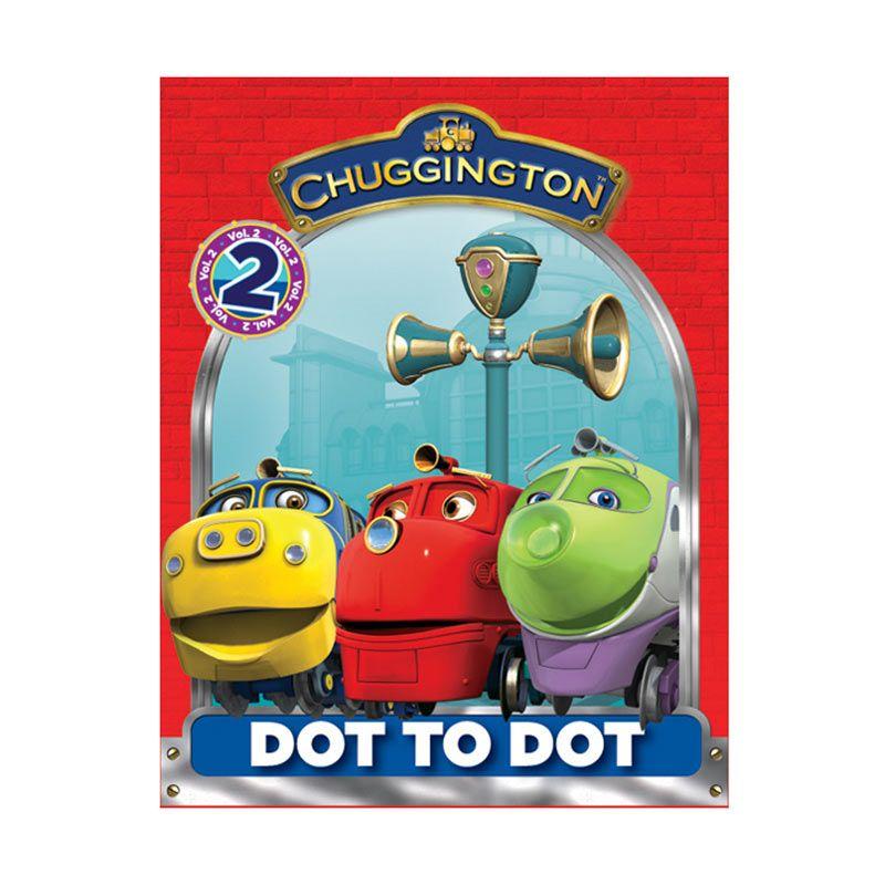 Ludorum Chuggington Buku Aktivitas Dot to Dot Vol. 02 Buku Anak