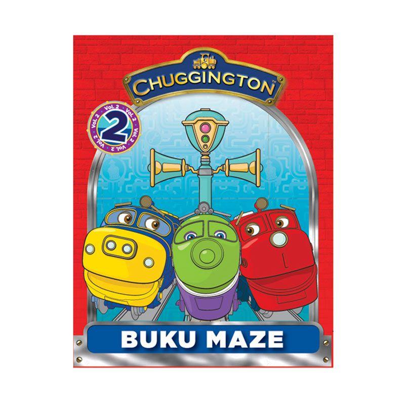 Ludorum Chuggington Buku Aktivitas Maze Vol. 02 Buku Anak