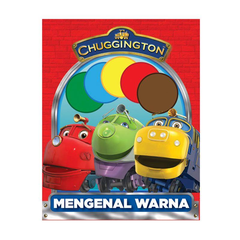 Ludorum Chuggington Buku Aktivitas Mengenal Warna Vol. 02 Buku Anak