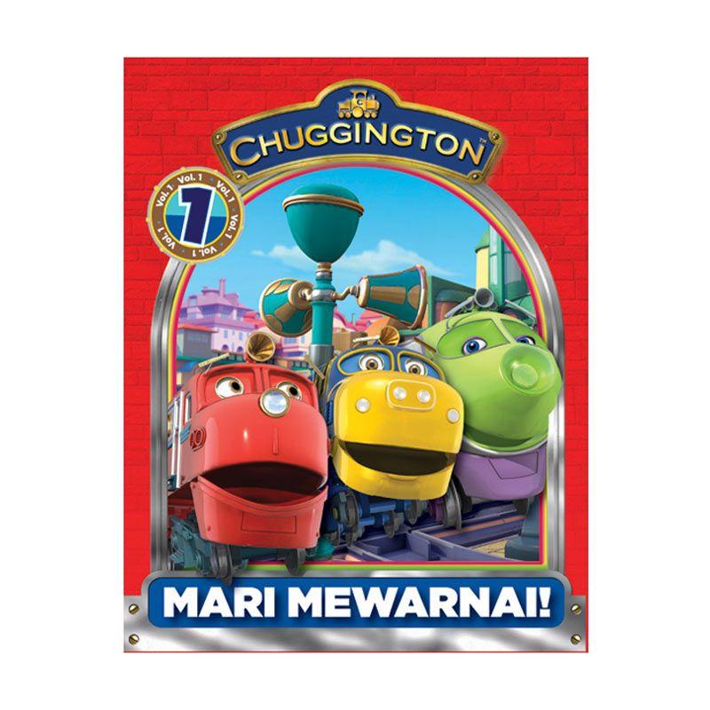 Ludorum Chuggington Buku Aktivitas Mewarnai Vol. 01 Buku Anak