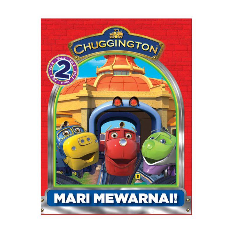 Ludorum Chuggington Buku Aktivitas Mewarnai Vol. 02 Buku Anak
