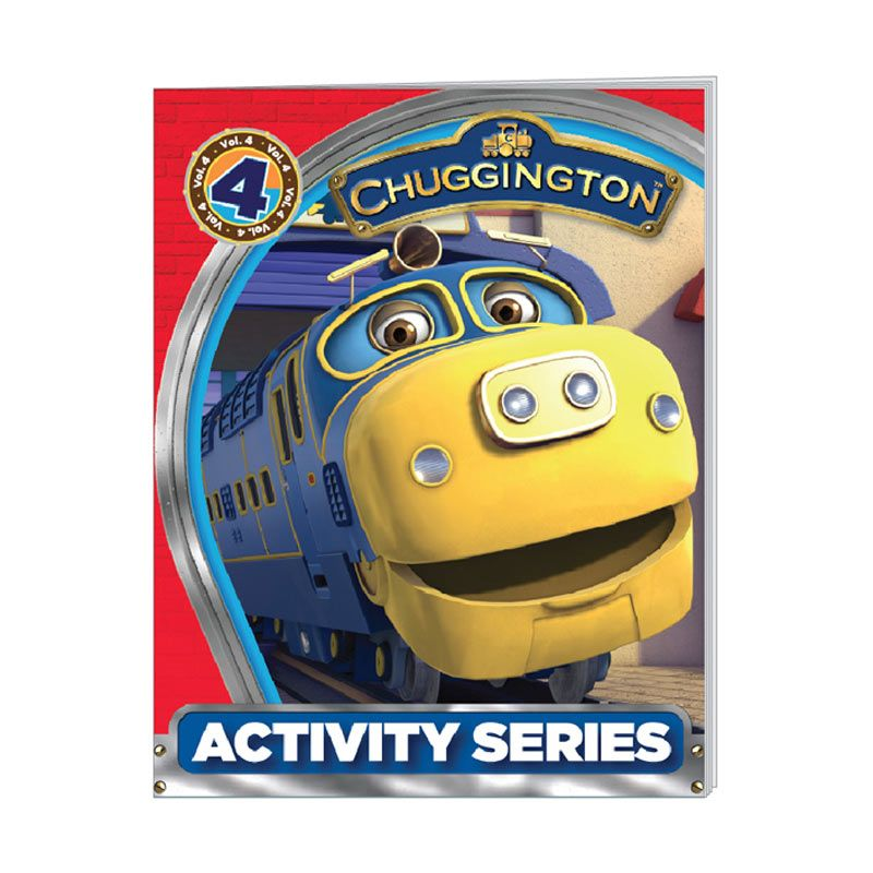 Ludorum Chuggington Buku Aktivitas Series Vol. 04 Buku Anak