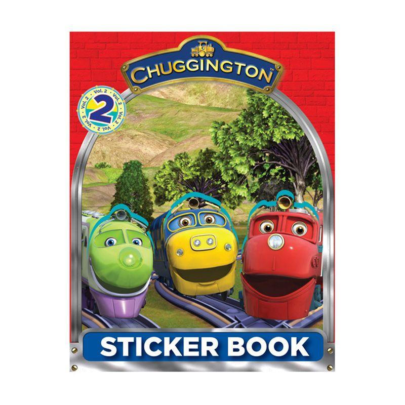 Ludorum Chuggington Buku Aktivitas Stiker Vol. 02 Buku Anak
